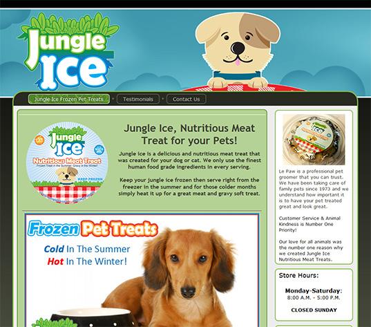 Jungle ice frozen pet treats pet ice cream solutioingenieria Image collections